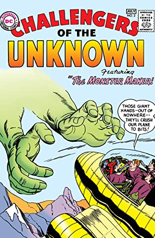Challengers of the Unknown (1958-1978) No.2