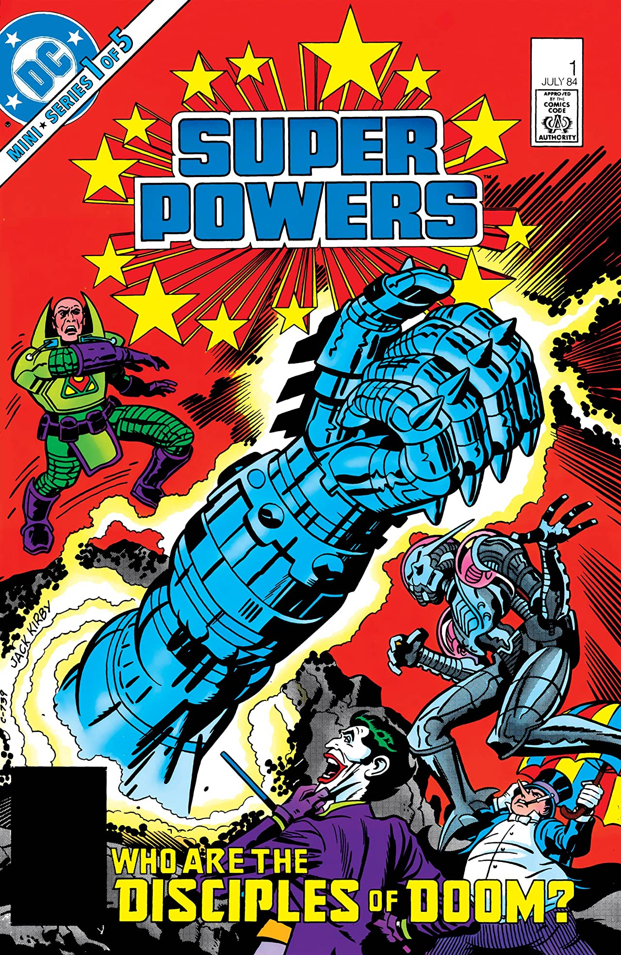 Super Powers (1984) #1