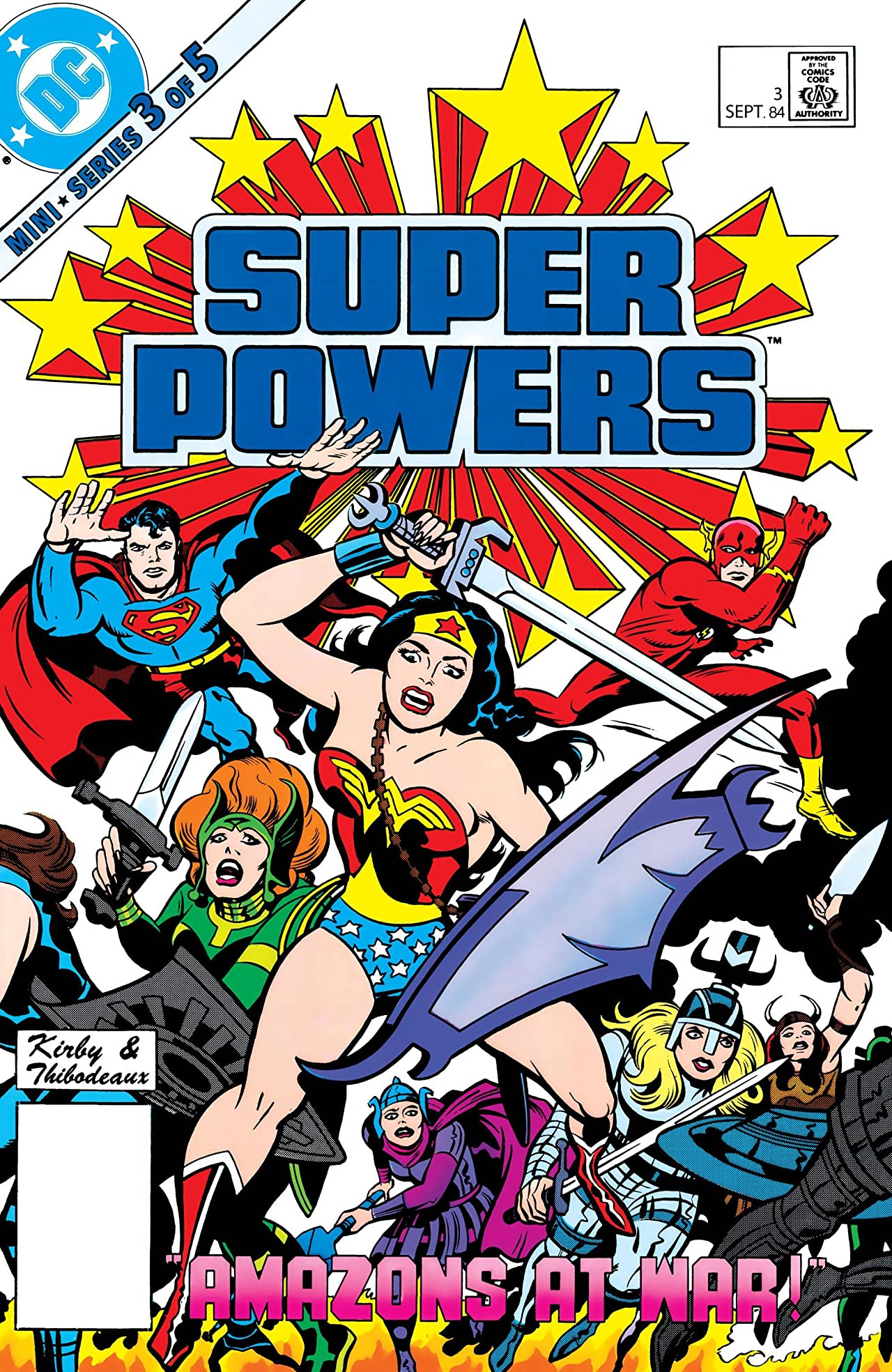 Super Powers (1984) #3