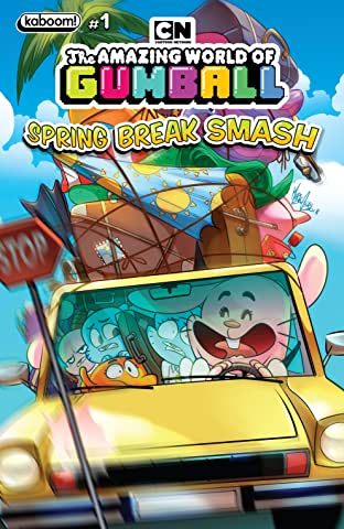 Amazing World of Gumball: Spring Break Smash
