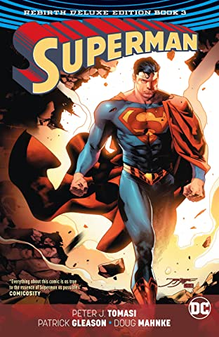 Superman (2016-): The Rebirth - Deluxe Edition: Book 3