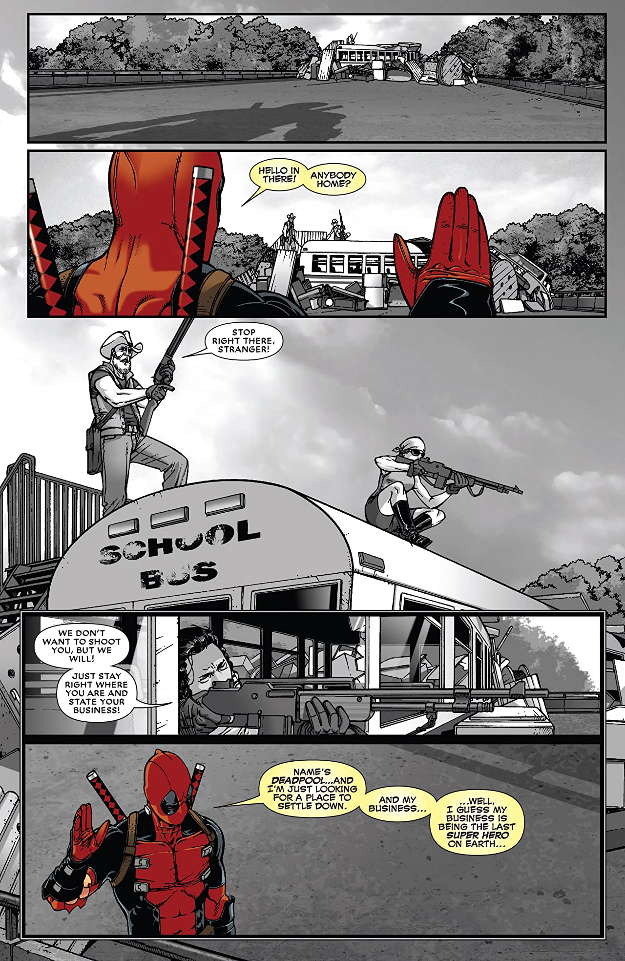 Night of the Living Deadpool #3 (of 4)
