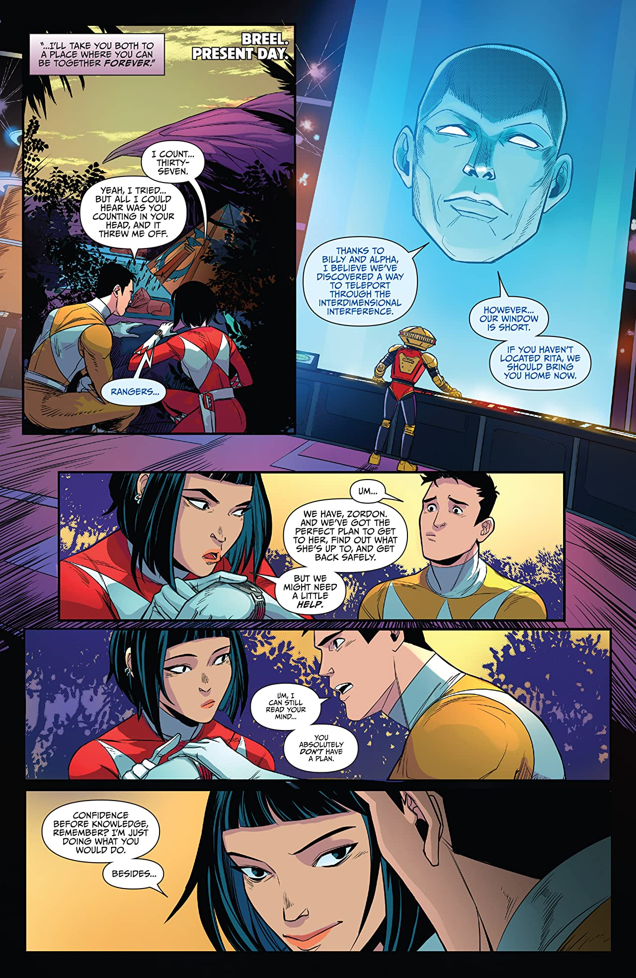 Saban's Go Go Power Rangers #16