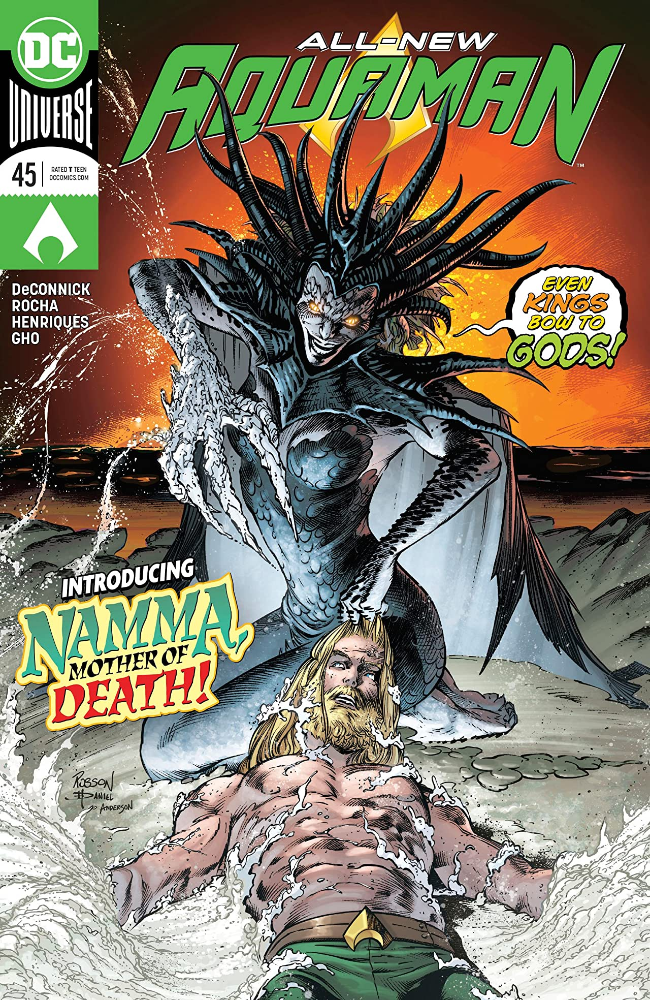 Aquaman (2016-) No.45