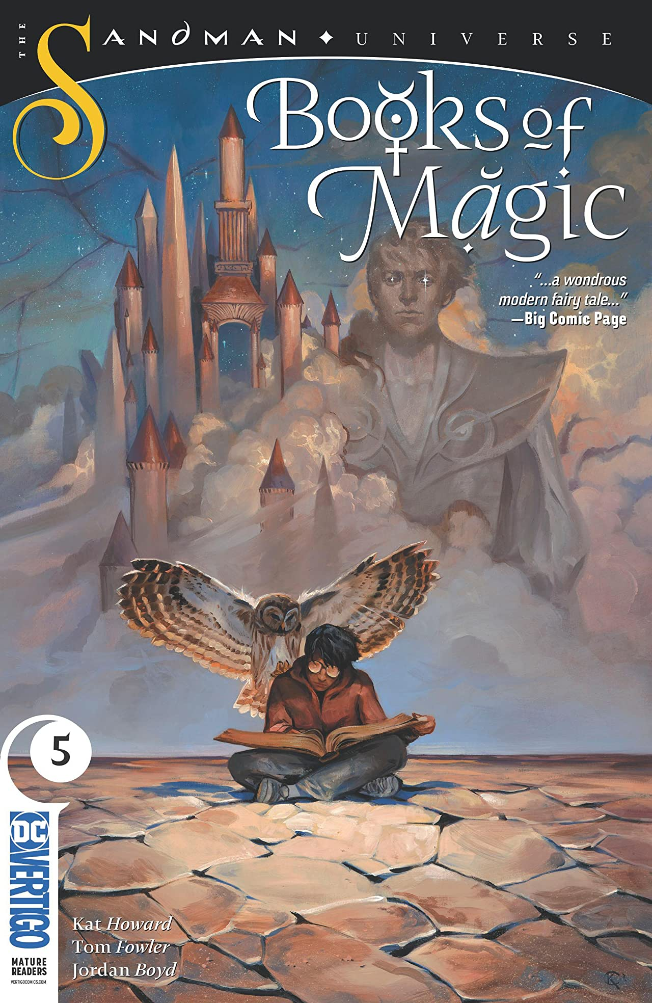 Books of Magic - Tome 5