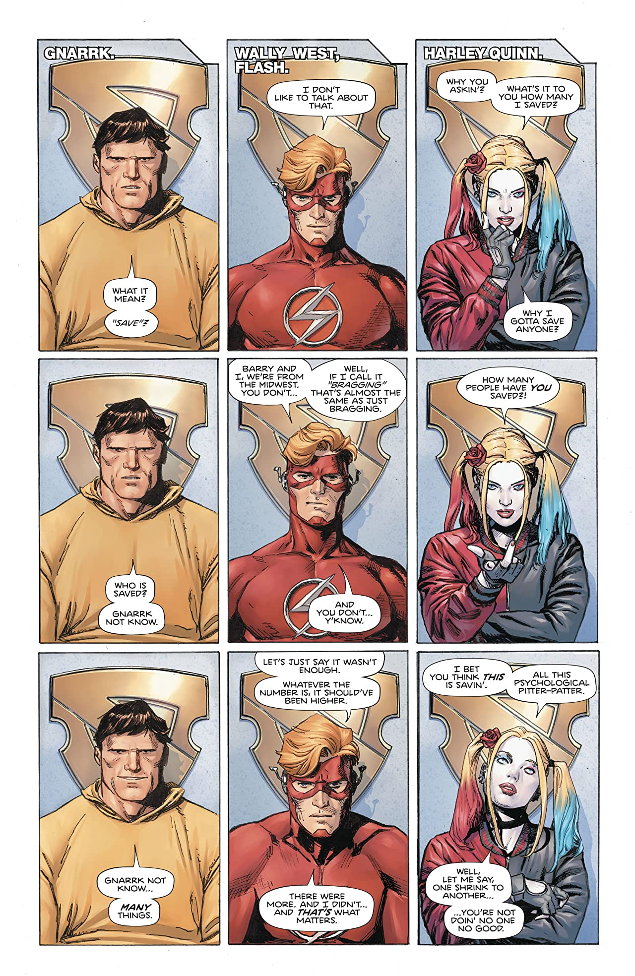 Heroes in Crisis (2018-) No.6