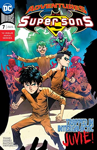 Adventures of the Super Sons (2018-2019) No.7
