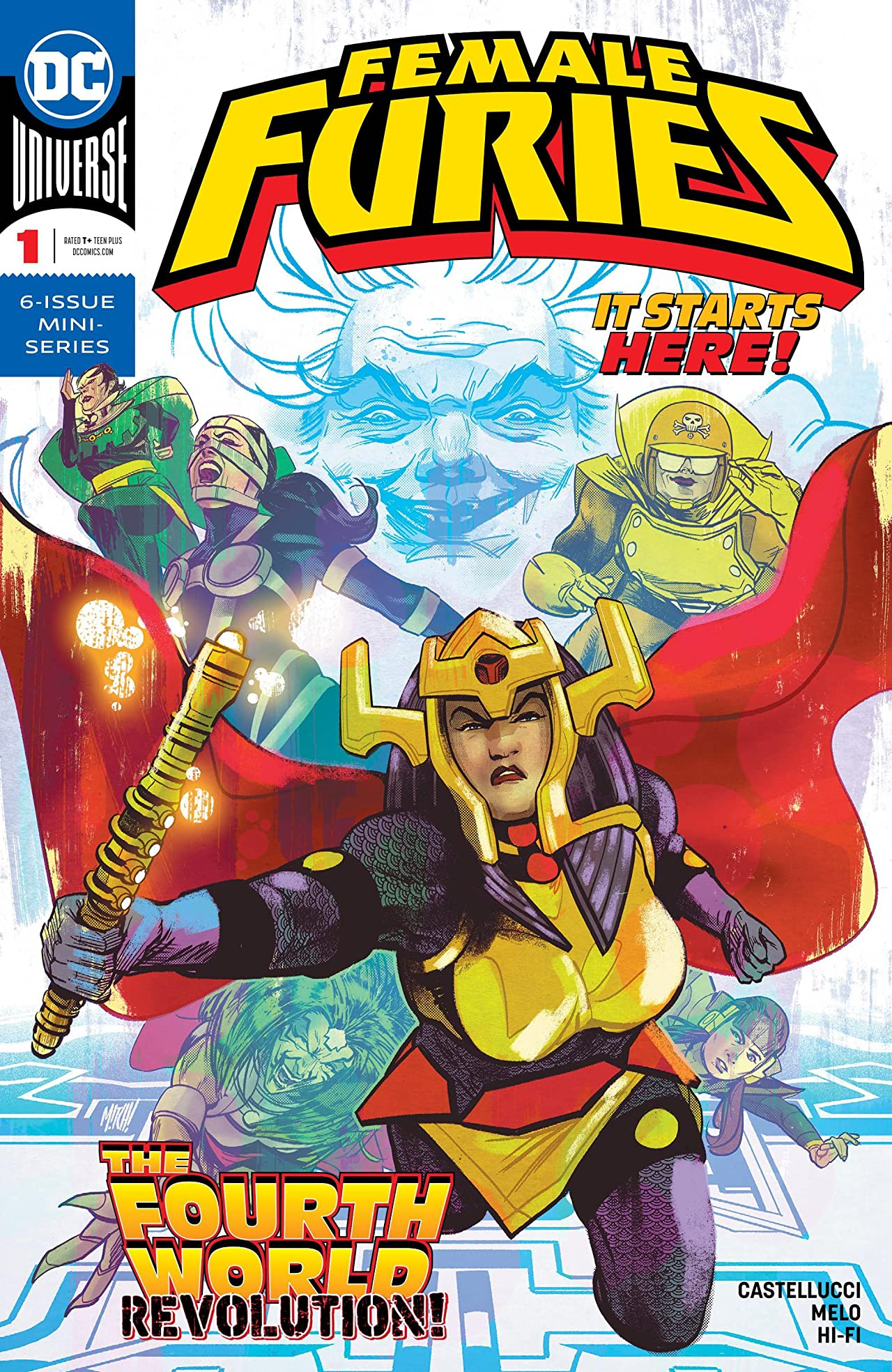 Female Furies (2019-) #1