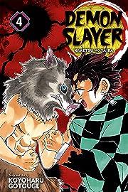 Demon Slayer:Kimetsu no Yaiba Vol. 4
