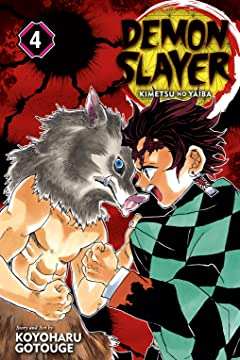 Demon Slayer: Kimetsu no Yaiba Vol. 4