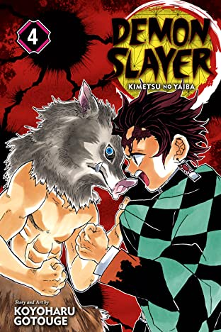 Demon Slayer: Kimetsu no Yaiba Tome 4