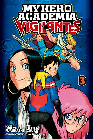 My Hero Academia: Vigilantes Vol. 3