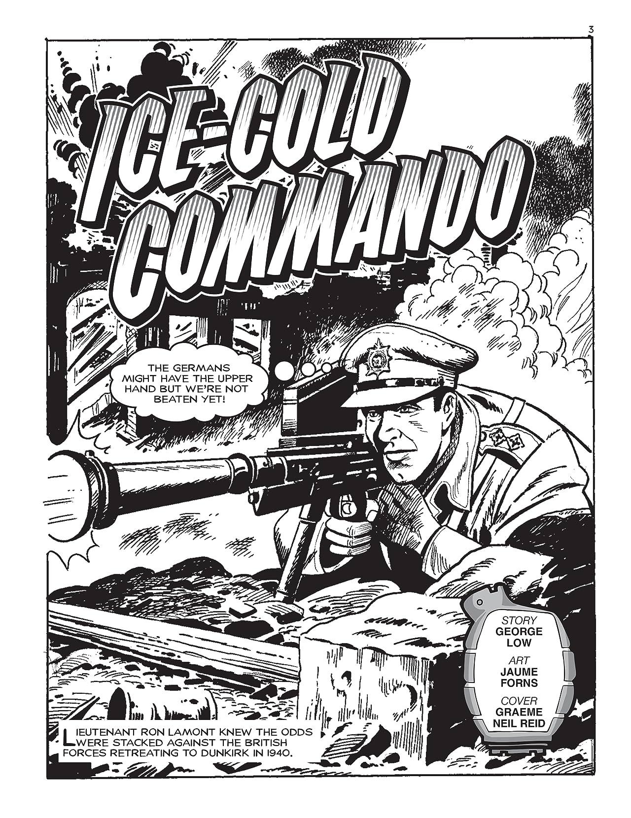 Commando #5187: Ice-Cold Commando
