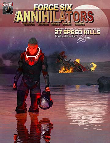 Force Six, The Annihilators #27: Speed Kills