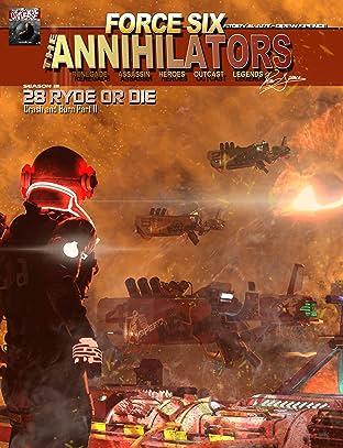 Force Six, The Annihilators #28: Ryde or Die