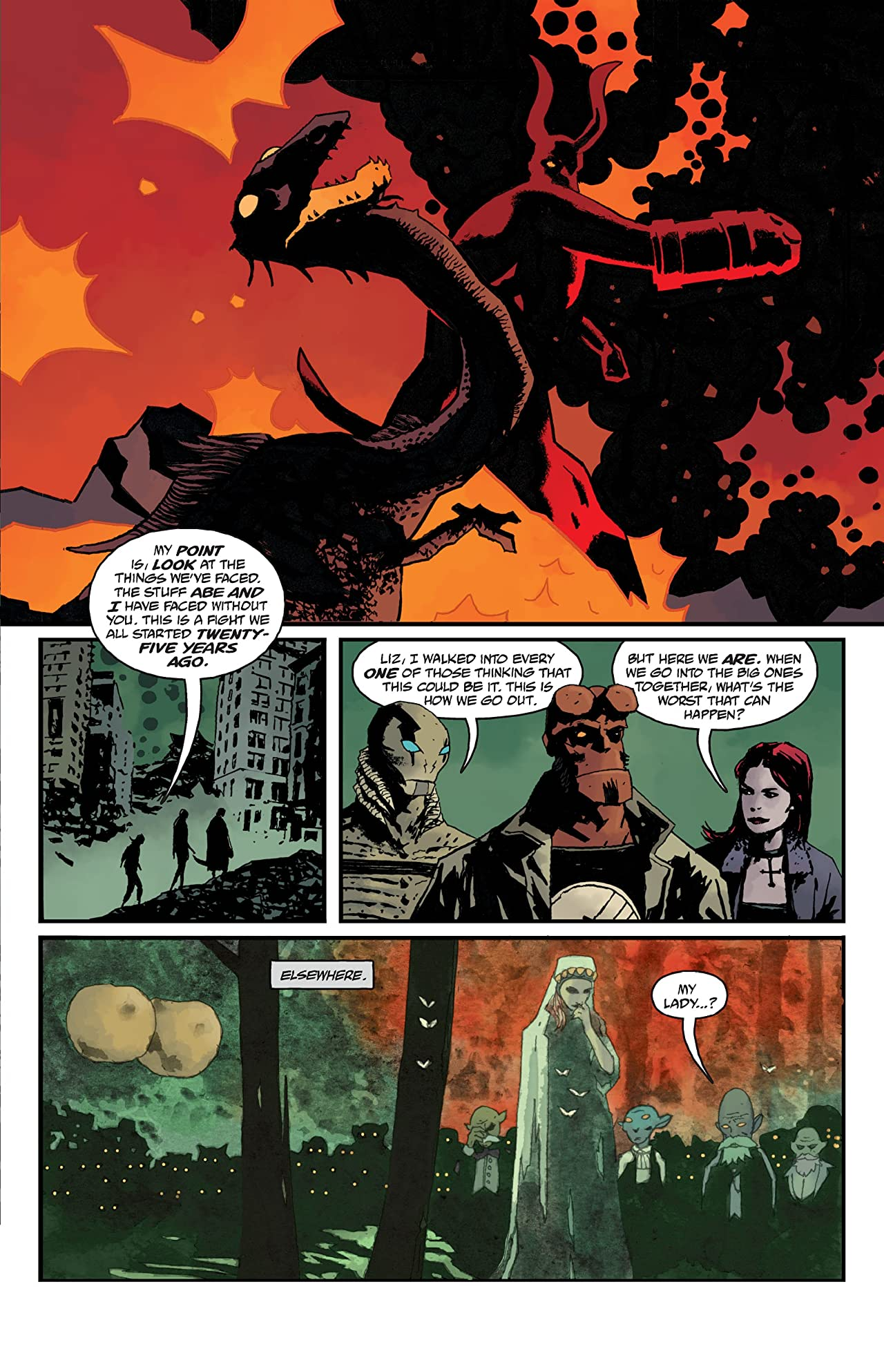 B.P.R.D.: The Devil You Know #13