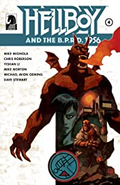 Hellboy and the B.P.R.D.: 1956 #4