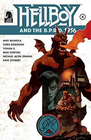 Hellboy and the B.P.R.D.: 1956 No.4