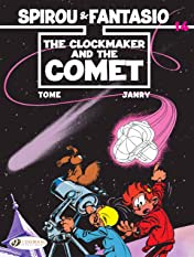 Spirou & Fantasio Tome 14: The Clockmaker and the Comet