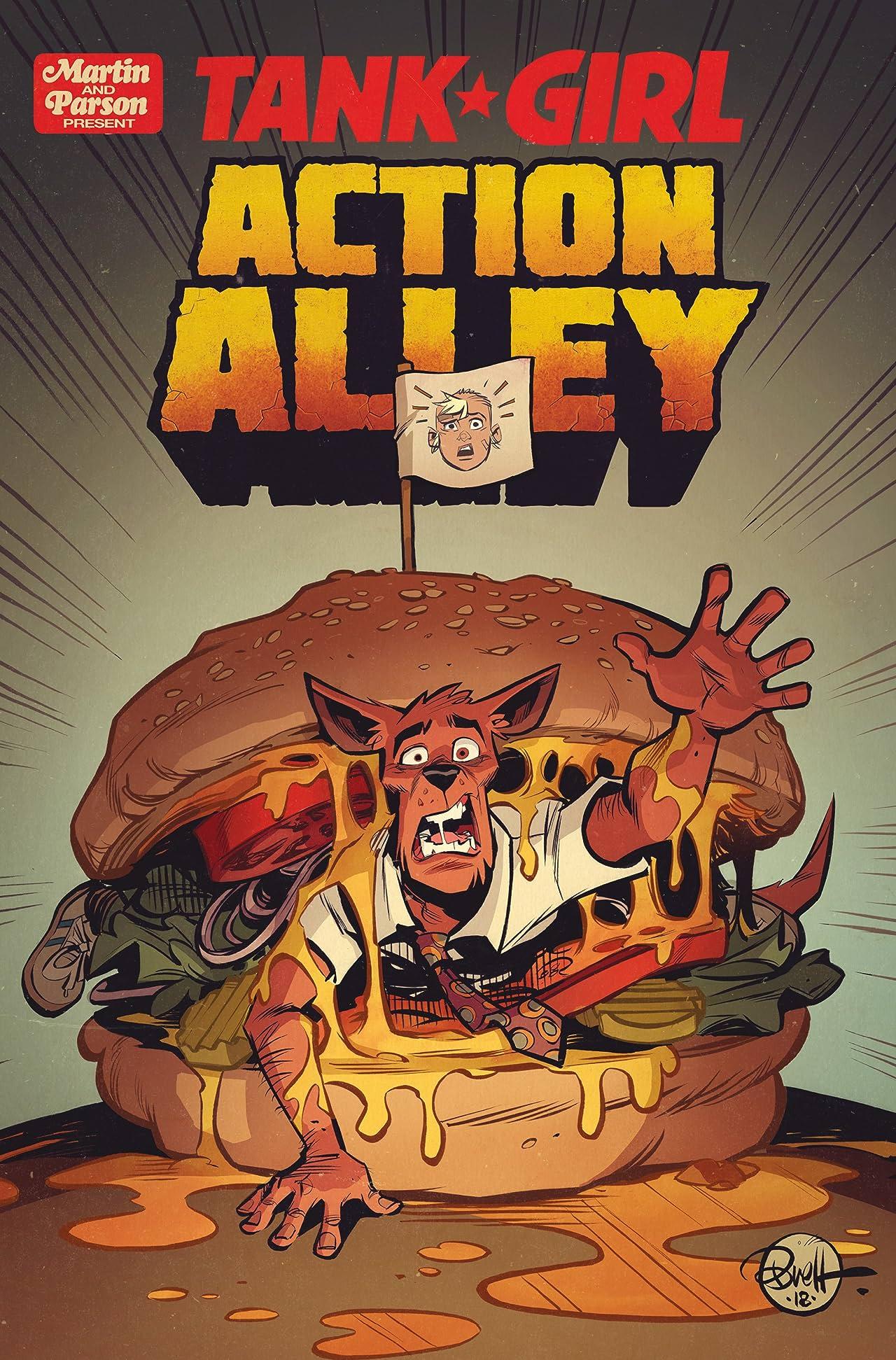 Tank Girl: Action Alley No.4