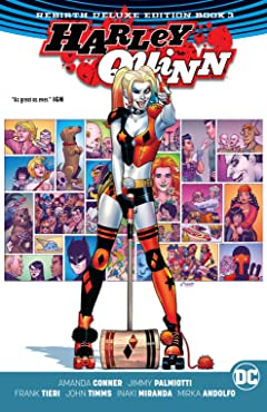 Harley Quinn: The Rebirth Deluxe Edition - Book 3