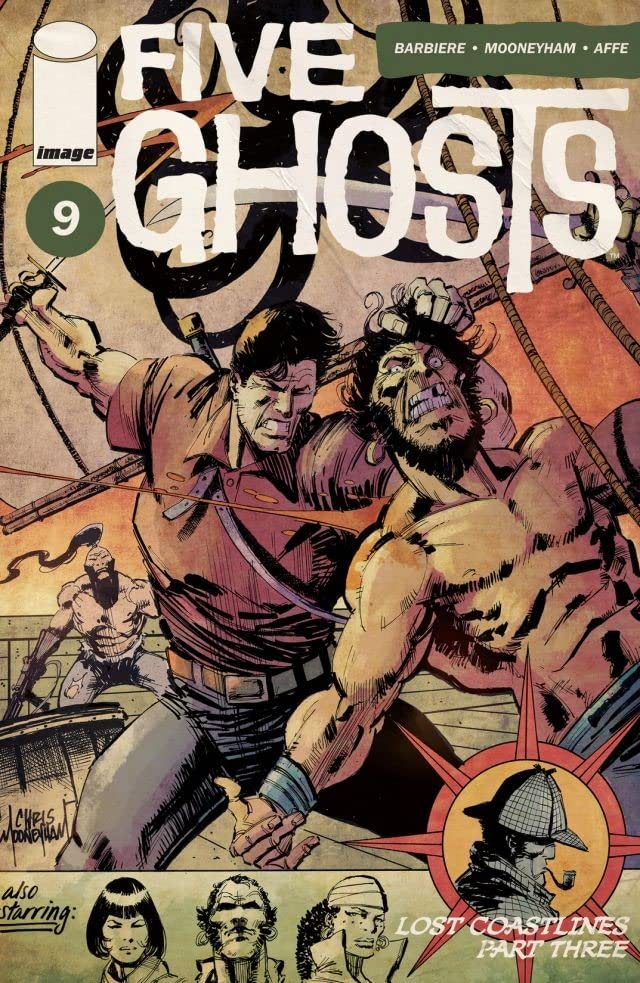 Five Ghosts #9