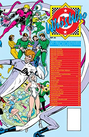 Who's Who: The Definitive Directory of the DC Universe (1985-1987) No.7