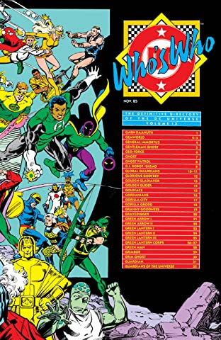 Who's Who: The Definitive Directory of the DC Universe (1985-1987) No.9