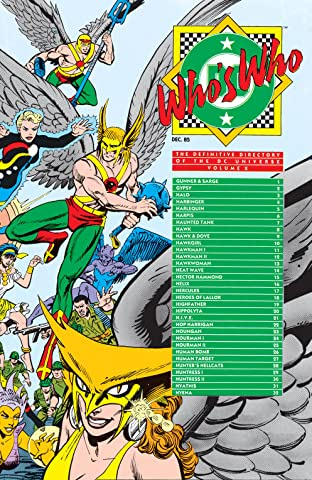 Who's Who: The Definitive Directory of the DC Universe (1985-1987) No.10