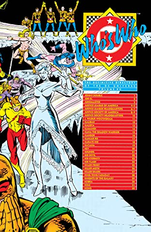 Who's Who: The Definitive Directory of the DC Universe (1985-1987) No.12