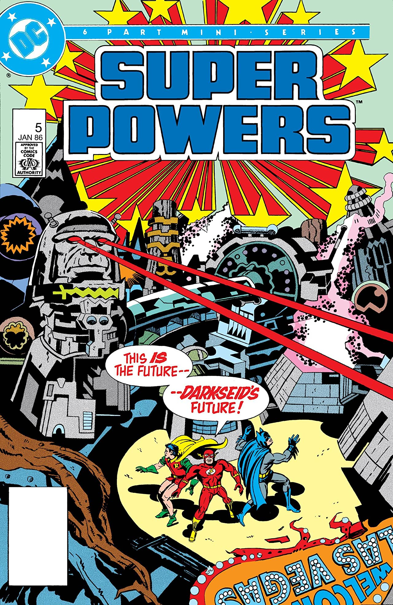 Super Powers (1985) #5