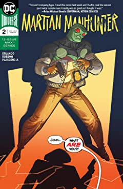 Martian Manhunter (2018-) No.2