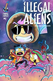 Illegal Aliens: The First EVER, ever, ever, ever, Comic Book That Teaches Guitar! #1