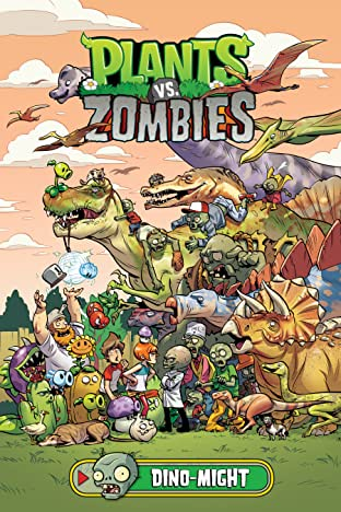 Plants vs. Zombies Vol. 12: Dino-Might