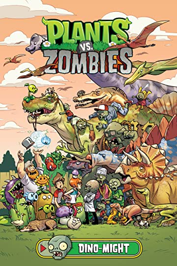 Plants vs. Zombies Tome 12: Dino-Might