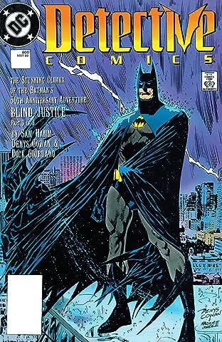 Detective Comics (1937-2011) #600