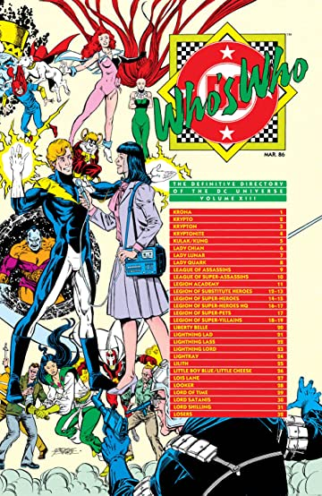 Who's Who: The Definitive Directory of the DC Universe (1985-1987) #13