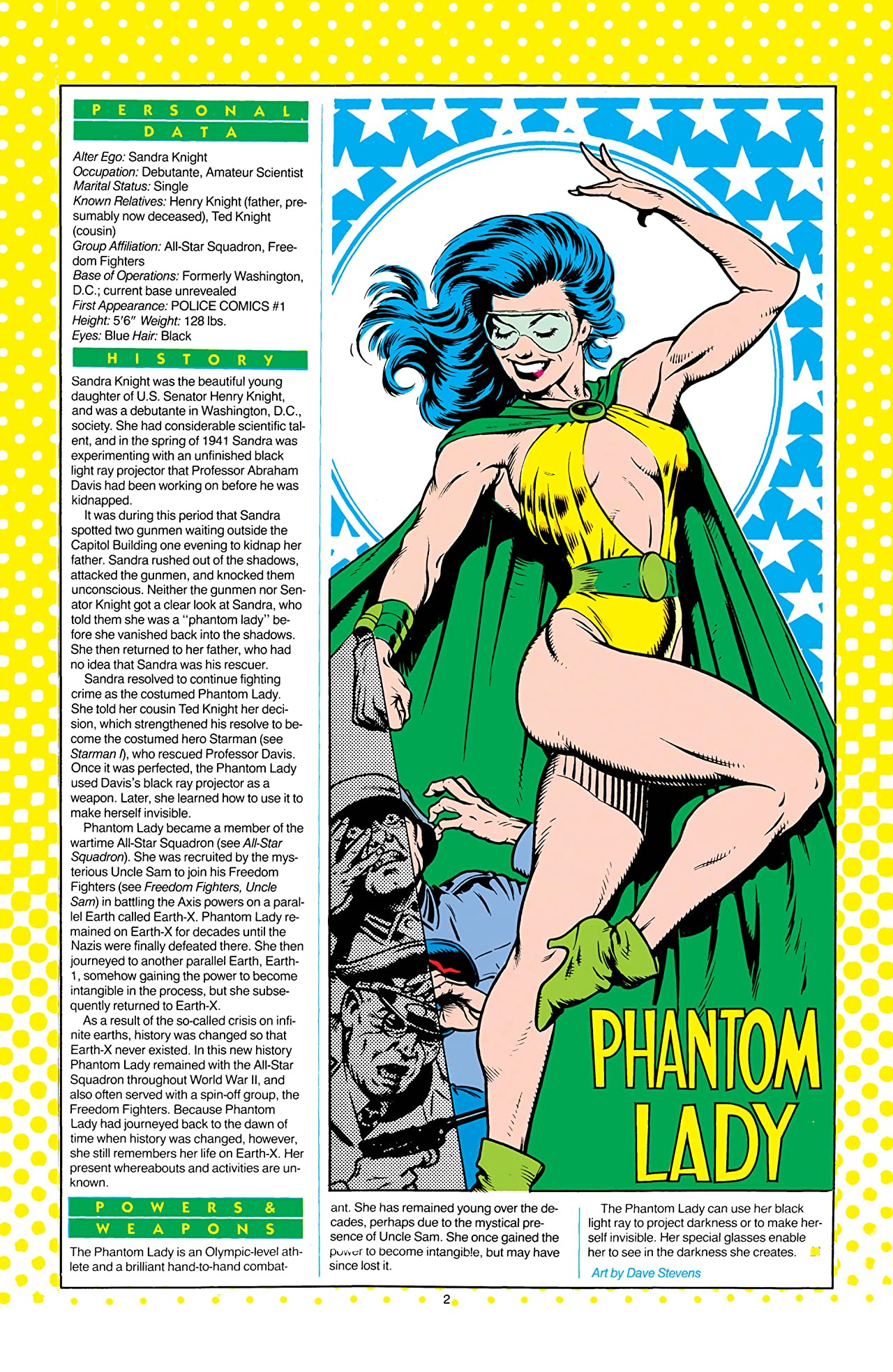 Who's Who: The Definitive Directory of the DC Universe (1985-1987) #18