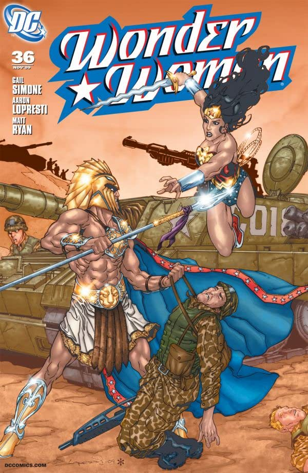 Wonder Woman (2006-2011) #36