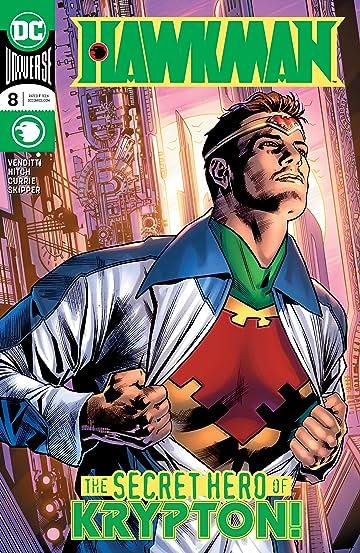 Hawkman (2018-) #8