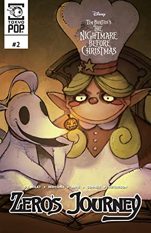 Disney Manga: Tim Burton's The Nightmare Before Christmas: Zero's Journey No.2