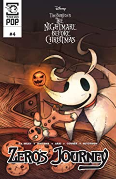 Disney Manga: Tim Burton's The Nightmare Before Christmas: Zero's Journey #4