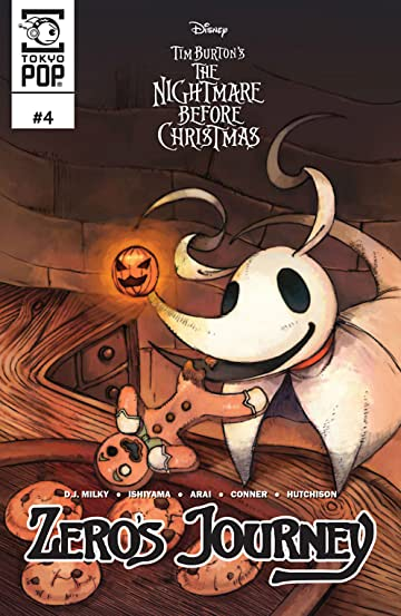 Disney Manga: Tim Burton's The Nightmare Before Christmas: Zero's Journey