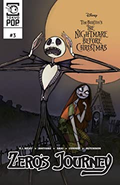 Disney Manga: Tim Burton's The Nightmare Before Christmas: Zero's Journey #3