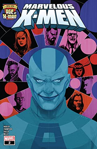 Age Of X-Man: The Marvelous X-Men (2019) #2 (of 5)