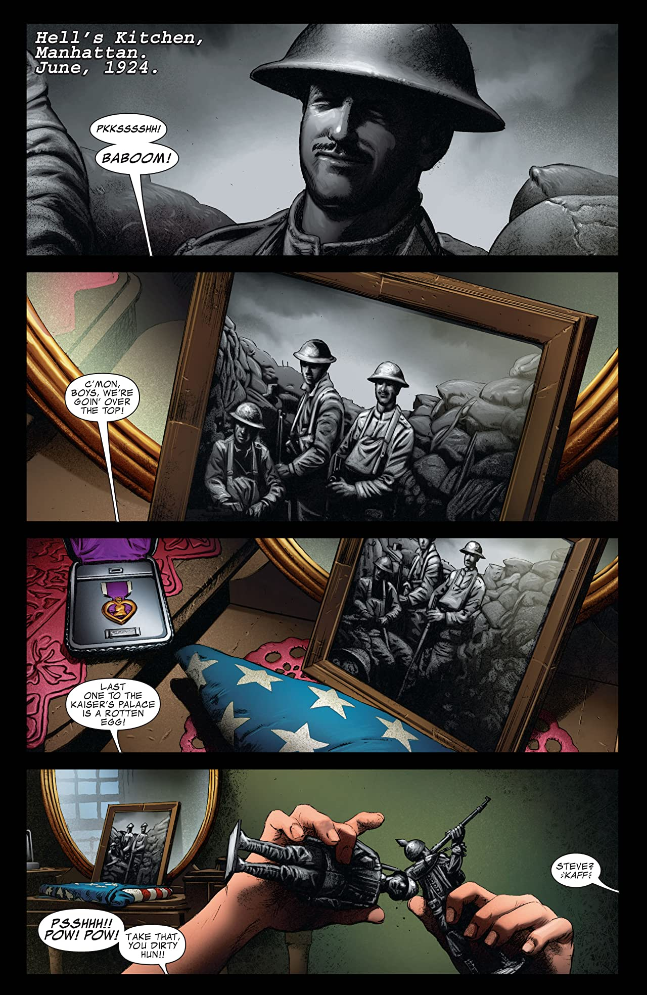 Captain America: The First Avenger #1: First Vengeance