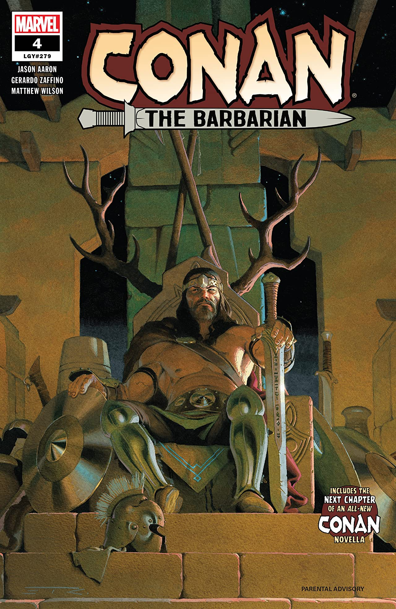 Conan The Barbarian (2019-) No.4