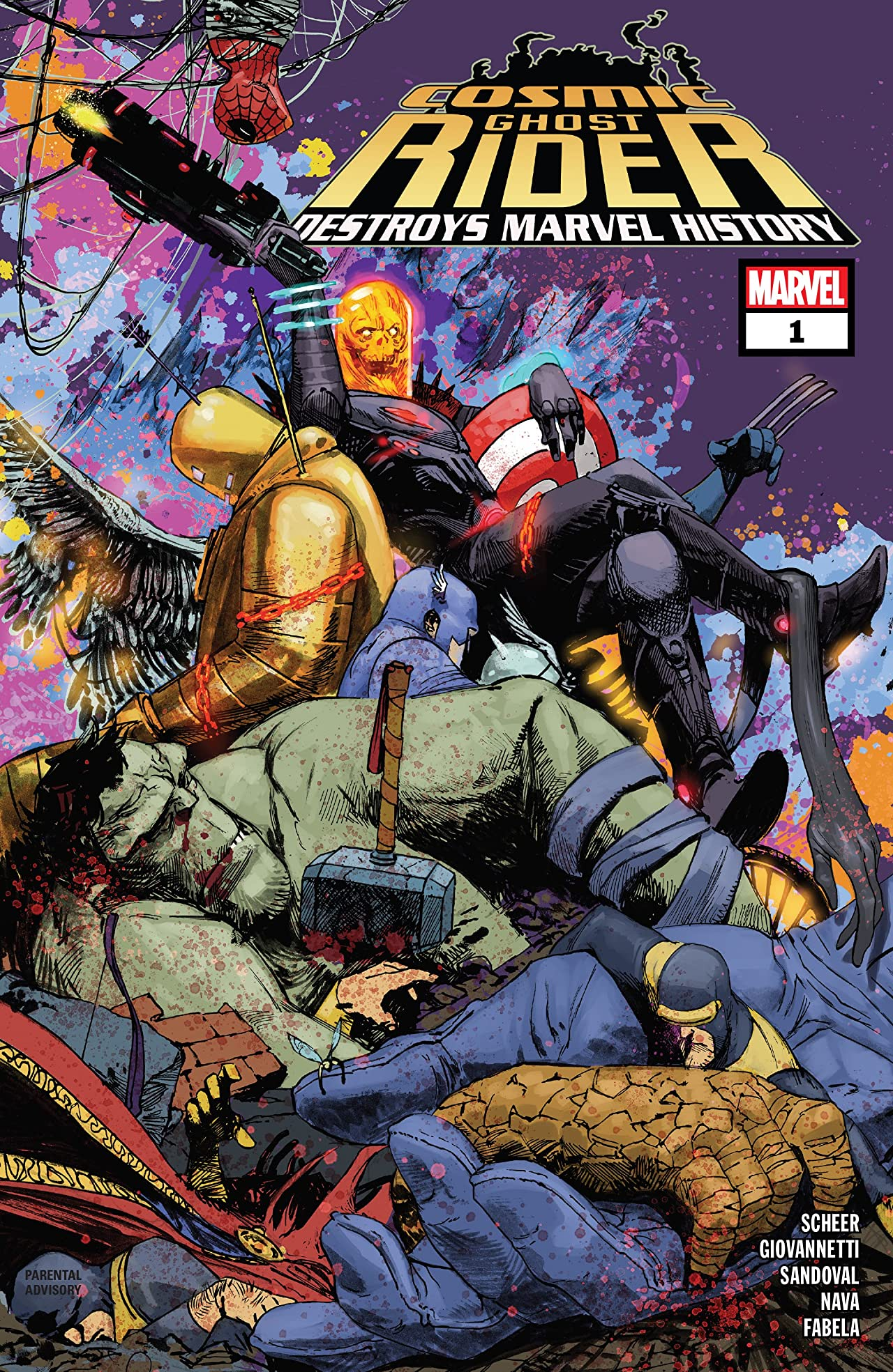Cosmic Ghost Rider Destroys Marvel History (2019) #1 (of 6)