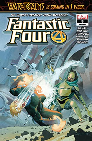 Fantastic Four (2018-) No.8