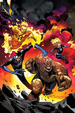 Fantastic Four (2018-) #8